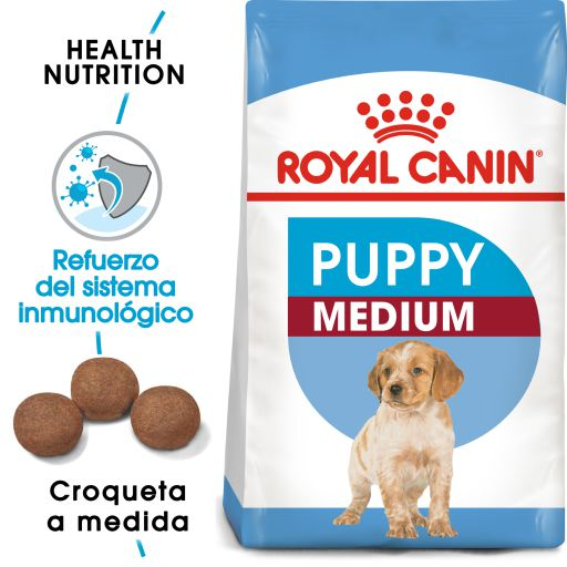 Royal medium puppy 15 kg